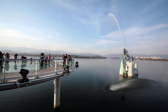 여행/ 소양강 스카이워크와 물고기상