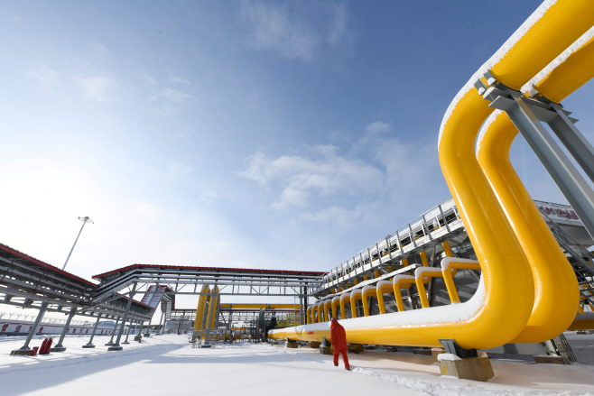 rus-china gas pipeline
