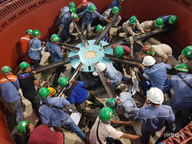 대상_인도네시아 라자만달라 수력발전소