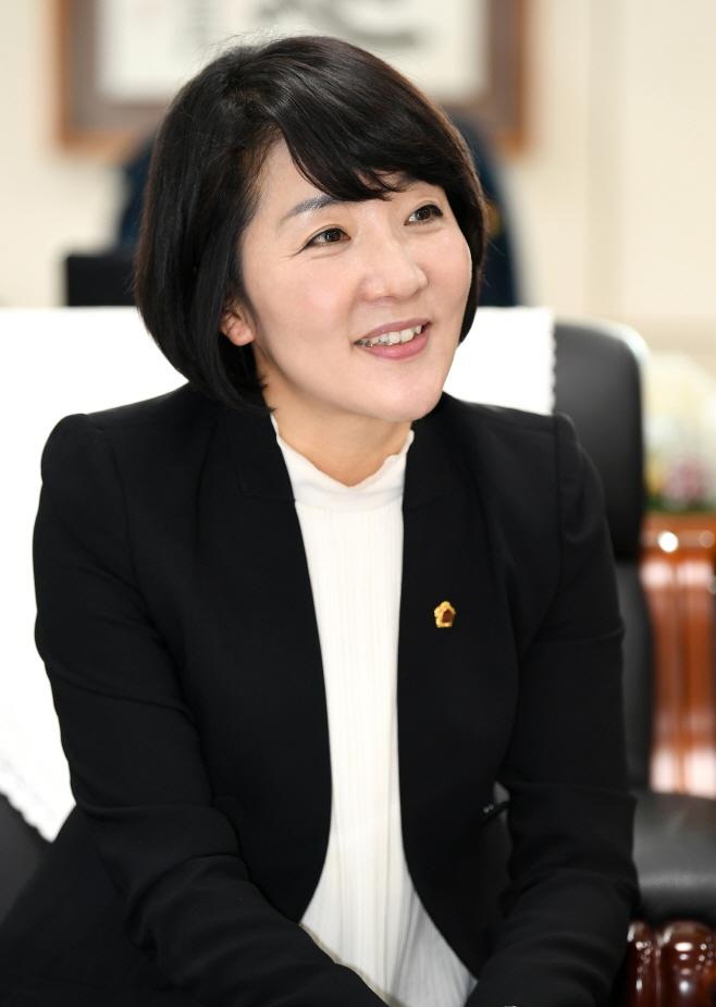 김지수 의장 사진(신년사)