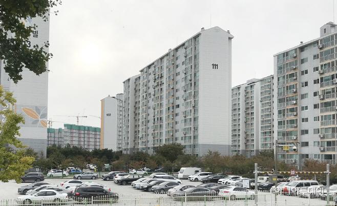 (서산)1104 임시공영주차장 4개소 조성 완료(센스빌아파트)