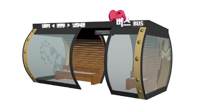 버스승강장 디자인