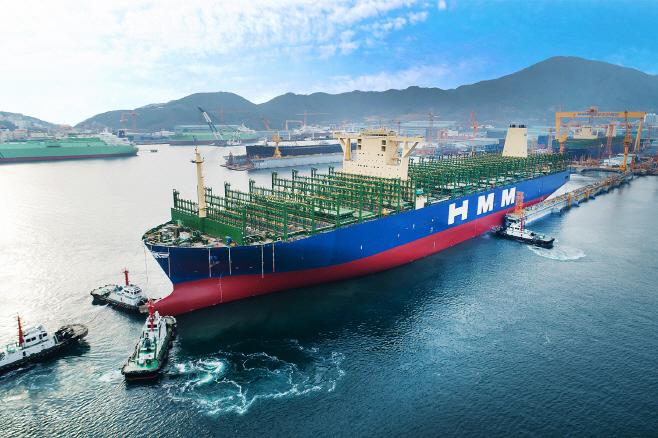 (사진자료) 현대상선 24,000TEU급 컨테이너선