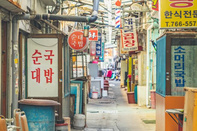인천둘레길12코스_동인천역 앞 송현동 순대골목