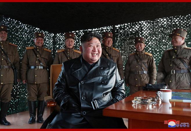 북한, 전술유도무기 시범사격훈련
