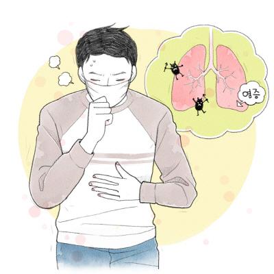 호흡기 질환 관련 사진