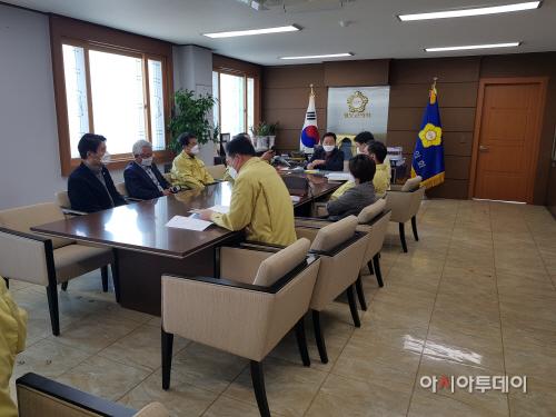 청도군의회대책회의
