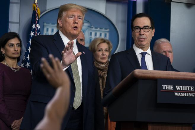 Virus Outbreak Trump Economic Recovery