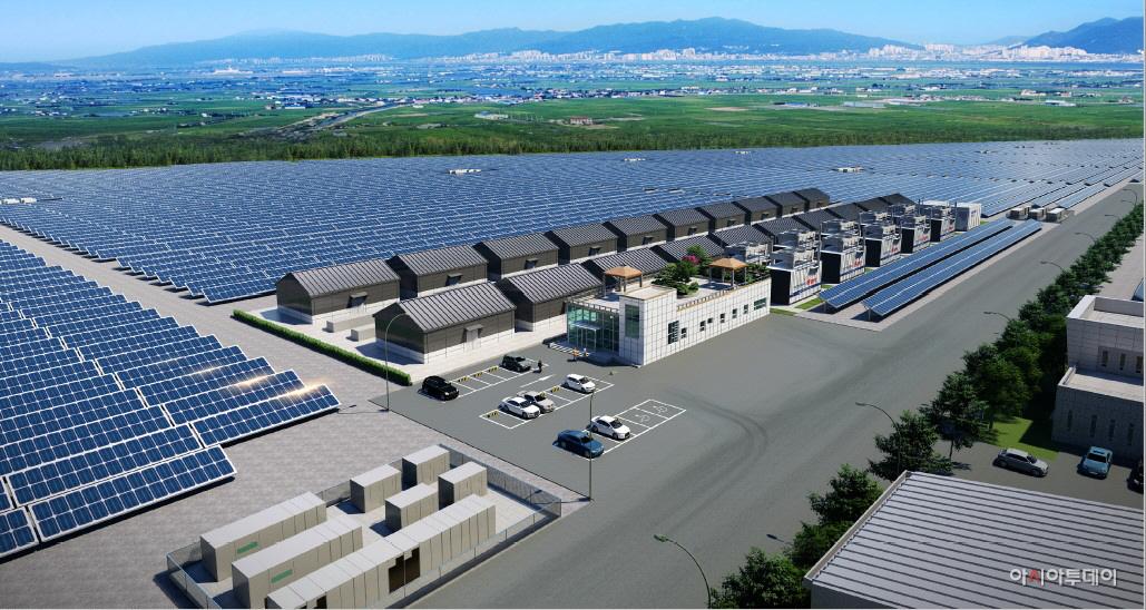 호반건설 컨소시엄, 새만금 육상태양광 발전 수주