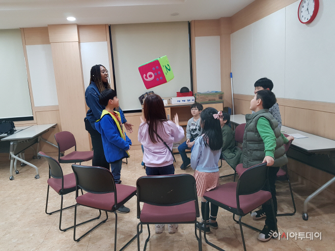 이천시립어린이 도서관 영어독서교실을 운영