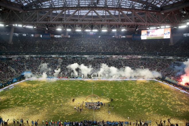 Virus Outbreak Russia Soccer <YONHAP NO-0378> (AP)