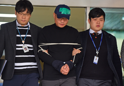 양진호 회장 검찰 송치