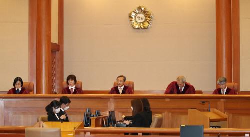 헌법재판소, 사보임 적법 여부 판단
