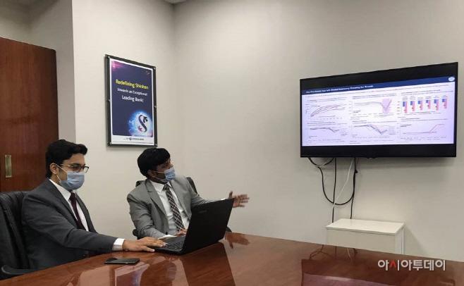 신한은행 인도본부,뭄바이 증권거래소와 웹세미나 개최