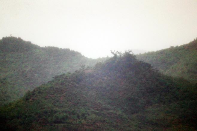 사흘만에 철거된 북한 개풍군 대남 확성기