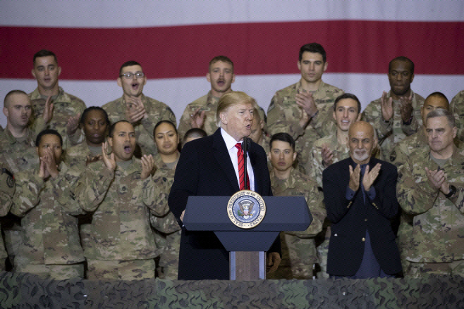 트럼프 아프간 방문