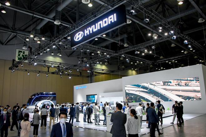 200701 (사진1) 현대자동차 '2020 수소모빌리티+쇼' 참가