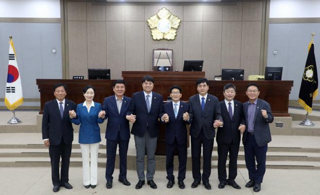 수원시의회 상임위원장 선출 제11대 후반기 원구성 마쳐