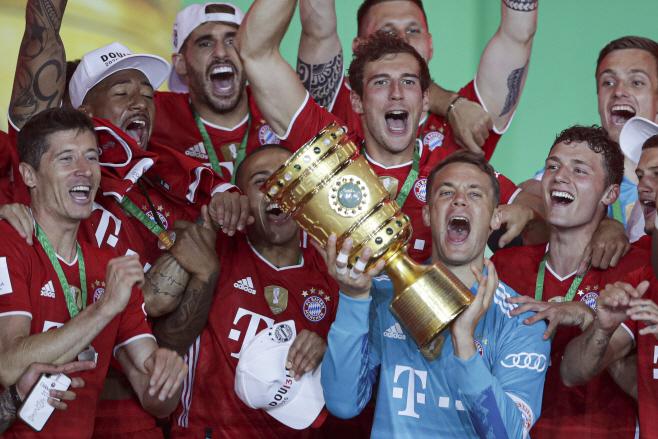 Germany Soccer Cup Final <YONHAP NO-1269> (AP)
