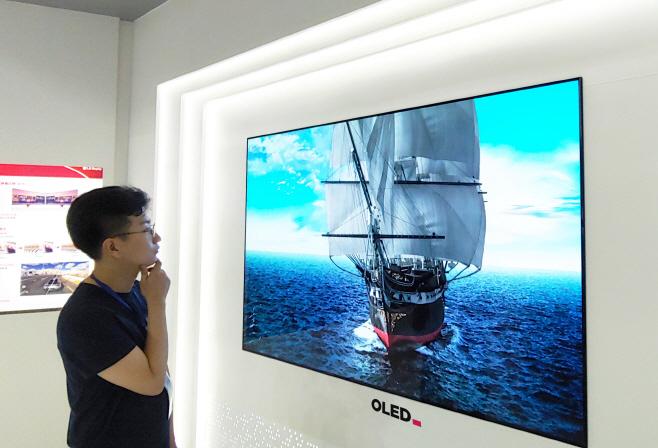 LG디스플레이 OLED TV 패널, 블루라이트 감소