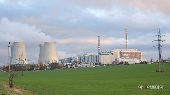 사진 1. 체코 두코바니 원전
