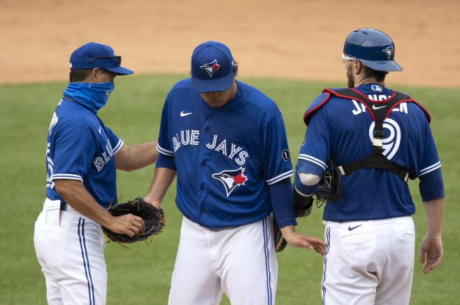 MLB NATIONALS BLUE JAYS <YONHAP NO-2556> (UPI)