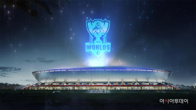 [라이엇 게임즈] 푸동 축구 경기장
