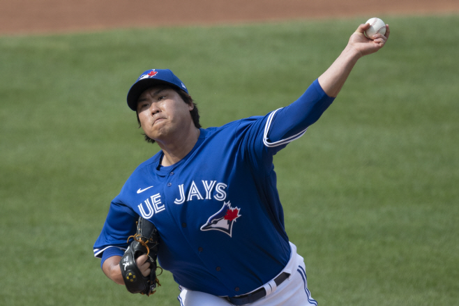 MLB NATIONALS BLUE JAYS <YONHAP NO-1758> (UPI)