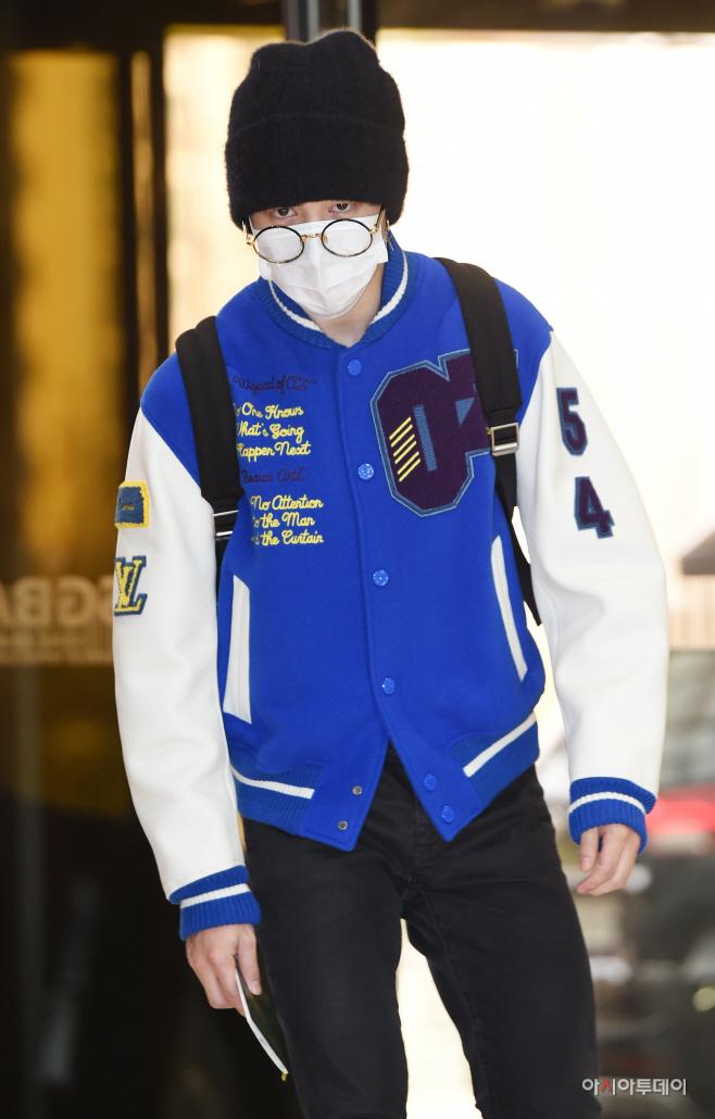 [포토] 방탄소년단 지민, 날카로운 인사