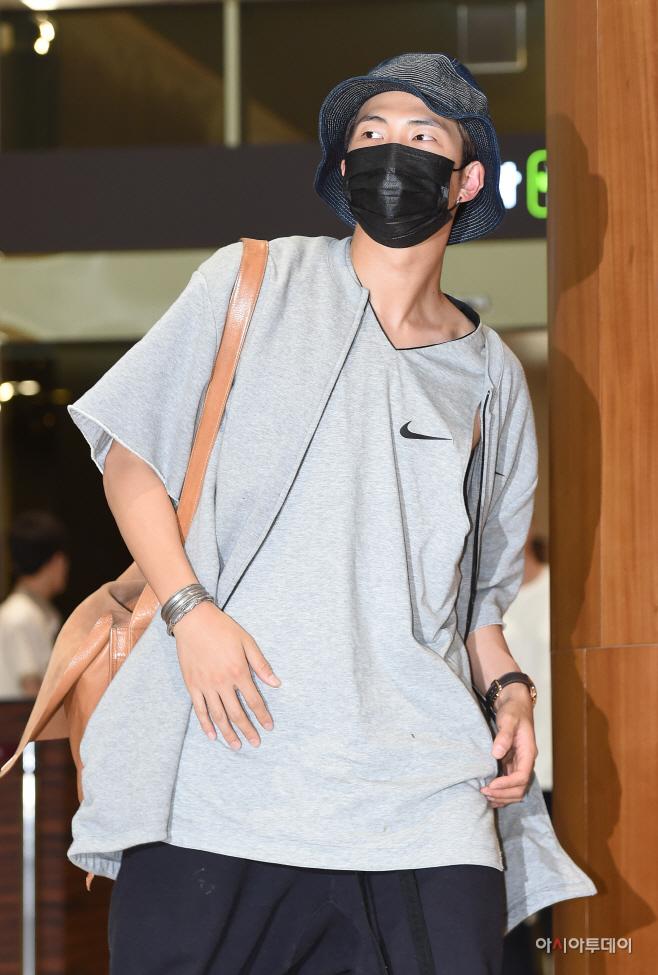 [포토] 방탄소년단 RM, 조던 느낌으로