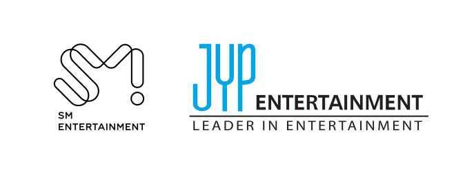 SM-JYP 로고 이미지