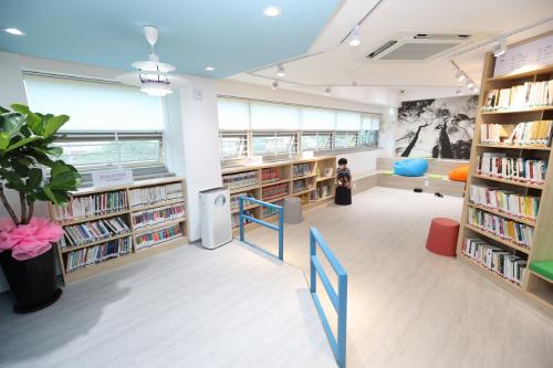 마음서랍 마을도서관 개관