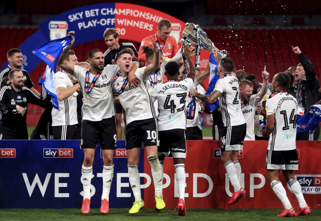 Britain Soccer Championship Playoff <YONHAP NO-1847> (AP)