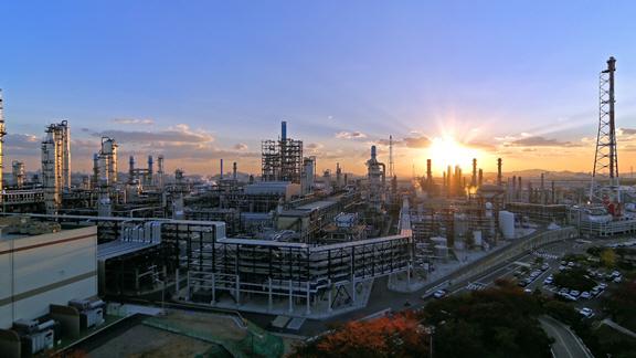 SK인천석유화학 전경