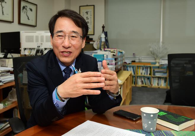이원욱 더불어민주당 의원 인터뷰