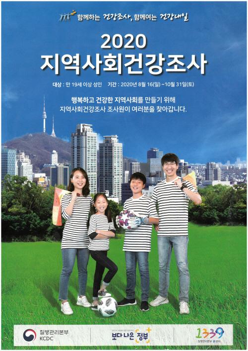 2020 지역사회건강조사(포스터)