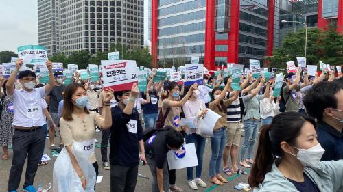사진3(젊은의사 단체행동)