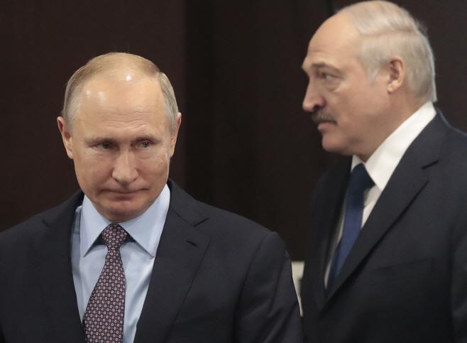 Russia Belarus <YONHAP NO-7094> (AP)