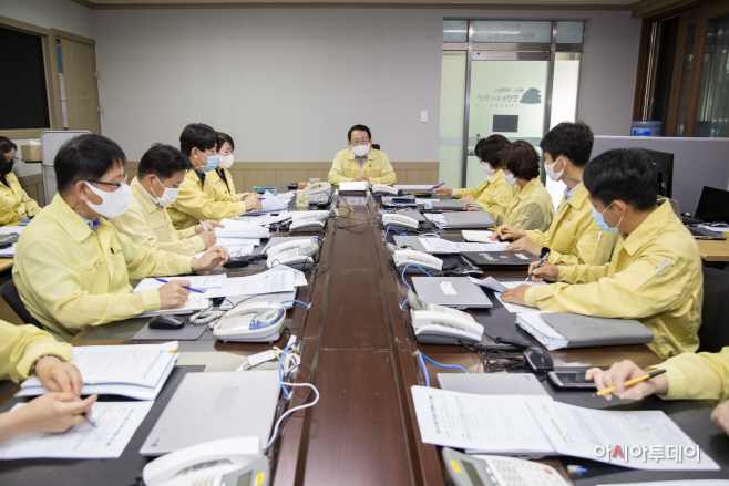 코로나19 대응 방역점검 상황회의 (2)