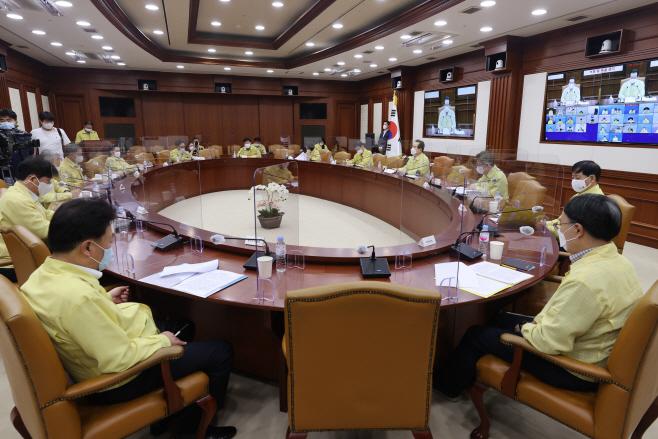 중대본 회의...비수도권 2단계 연장 여부 논의
