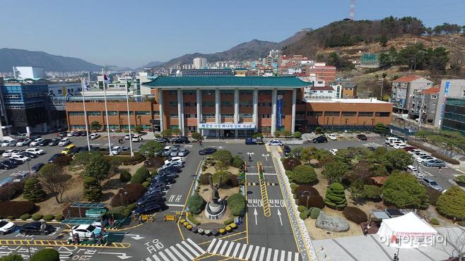 김해시청 전경