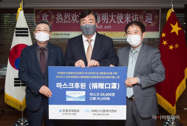 싱하이밍 주한중국대사 아시아투데이 방문6