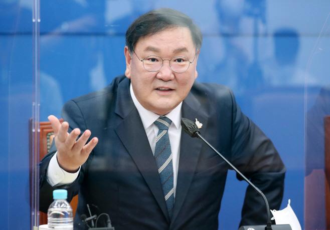 [포토] 김태년 더불어민주당 원내대표 기자간담회