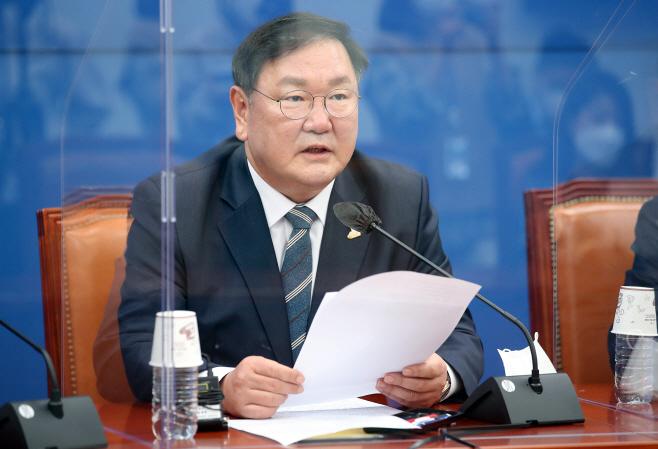 김태년 더불어민주당 원내대표, 기자간담회