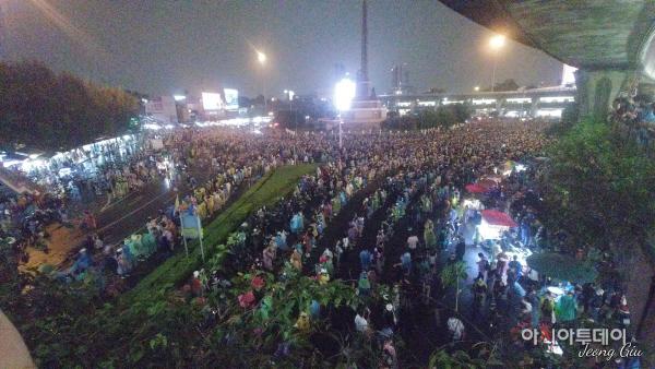 [포토뉴스]태국 반정부 시위 현장기록