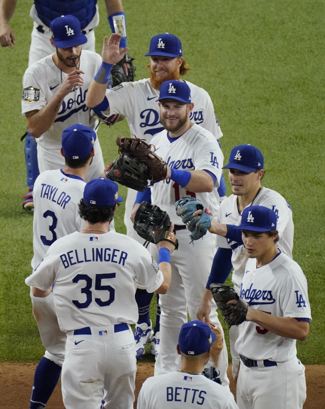 World Series Rays Dodgers Baseball <YONHAP NO-4034> (AP)