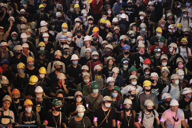 Thailand Protests <YONHAP NO-5511> (AP)