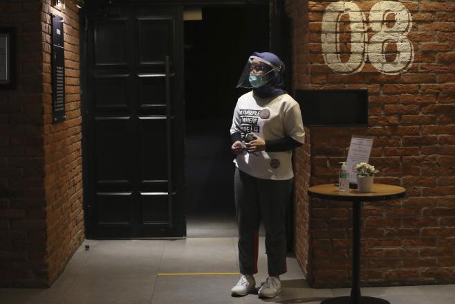 Virus Outbreak Indonesia <YONHAP NO-4695> (AP)