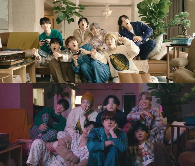 방탄소년단_Life Goes On_뮤직비디오_갈무리(1)