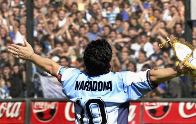 FILES-FBL-ARGENTINA-MARADONA-DEATH <YONHAP NO-0760> (AFP)